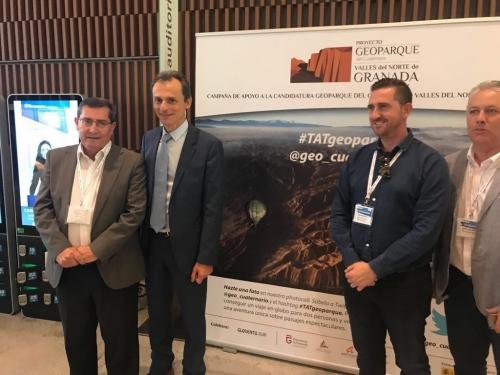 unnamed - Diputación aprovecha el eco internacional de TAT Granada para impulsar la candidatura del Geoparque - Geoparque de Granada