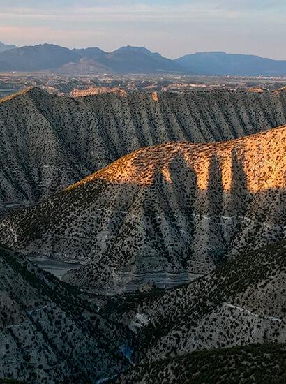 carcavas guardal 1 - Badlands of Castilléjar and Galera - Geoparque de Granada