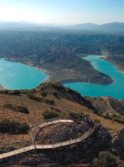 cerro jabalcon - Cerro Jabalcón (Inselberg) (The great viewpoint of the Granada Geopark) - Geoparque de Granada