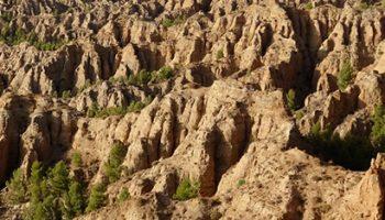 marchal 1 350x200 - Badlands of Marchal (piping) - Geoparque de Granada