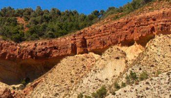 molicies 1 350x200 - Miocen serie of Cerro Molicies - Geoparque de Granada
