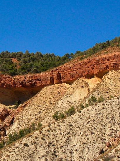 molicies 1 - Miocen serie of Cerro Molicies - Geoparque de Granada