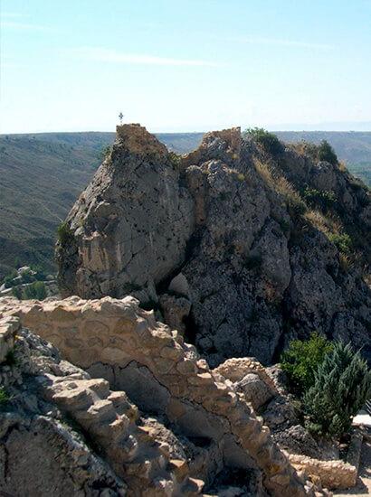 pena castril 1 - Cerrada del Río Castril - Geoparque de Granada
