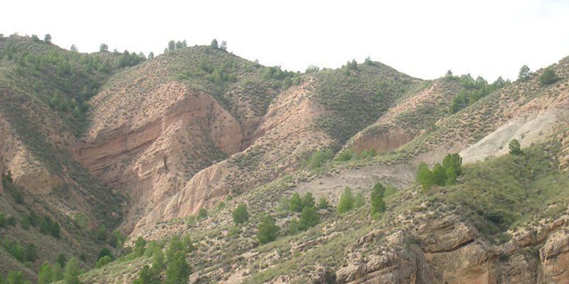 transicion negratin 1 800x400 - Transit marine-continental sedimentation of Negratín - Geoparque de Granada