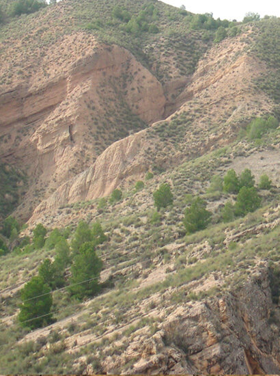 transicion negratin - Transit marine-continental sedimentation of Negratín - Geoparque de Granada