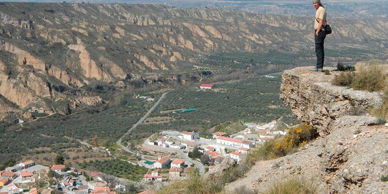 valle gor 1 800x400 - Gor gully (Gorafe) - Geoparque de Granada