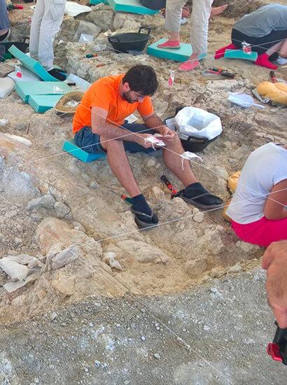 yacimiento fuente nueva - Palaeontological Site Fuente Nueva-3 - Geoparque de Granada