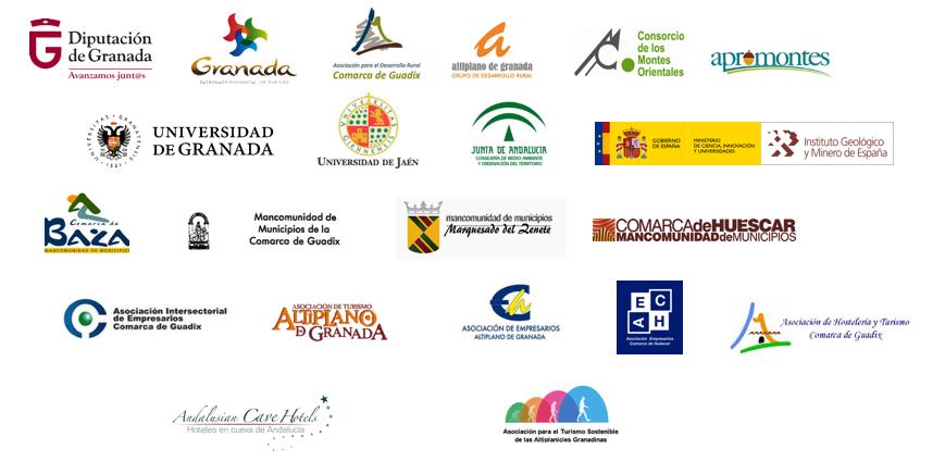entidades apoyo geoparque - El Geoparque - Geoparque de Granada