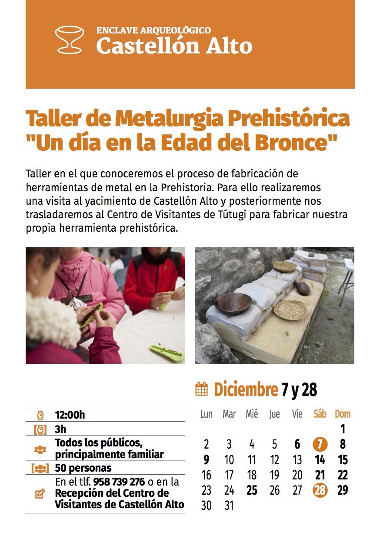 5de8fb34d9d59 - Taller de Metalurgia Prehistórica en Castellón Alto (Galera) - Geoparque de Granada
