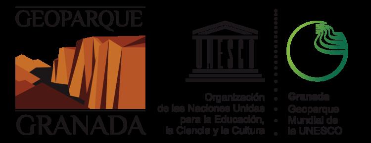 LOGO GEOPARQUE 2020 UNESCO HORIZONTAL CON LINEA 750x290 - Balance: el Geoparque en2020. - Geoparque de Granada