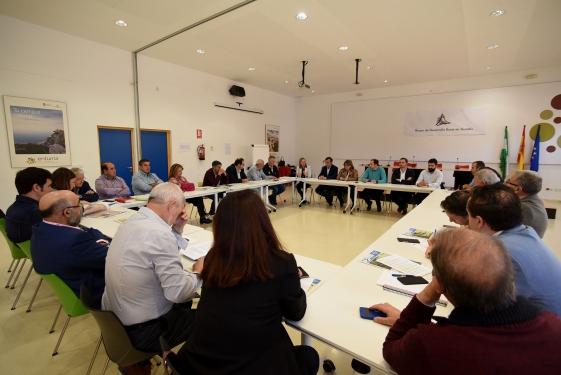 ReunionGEOPARQUE 2 2 - Los alcaldes y agentes del territorio respaldan de forma unánime la ampliación del Geoparque de Granada - Geoparque de Granada