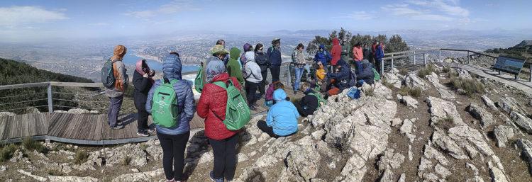 desqbre 4 750x257 - Educación y participación ambiental en el Geoparque de Granada, un objetivo para todos los públicos. - Geoparque de Granada