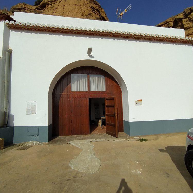 Centro de interpretación Beas de Guadix 750x750 - El Geoparque instala espacios de promoción en 36 centros de interpretación y puntos de información turística del territorio - Geoparque de Granada