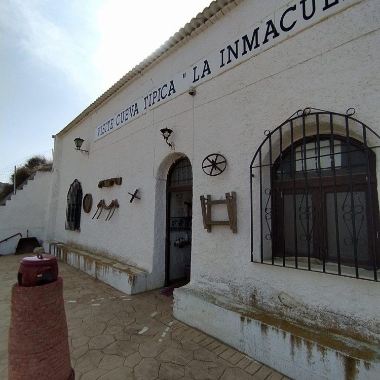 Cueva Museo La Inmaculada 750x750 - El Geoparque instala espacios de promoción en 36 centros de interpretación y puntos de información turística del territorio - Geoparque de Granada
