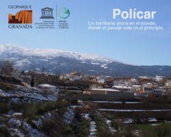 EXPO ITINERANTE POLICAR 250x200 - Exposición sobre el Geoparque, en POLÍCAR del 23 de febrero al 8 de marzo. - Geoparque de Granada