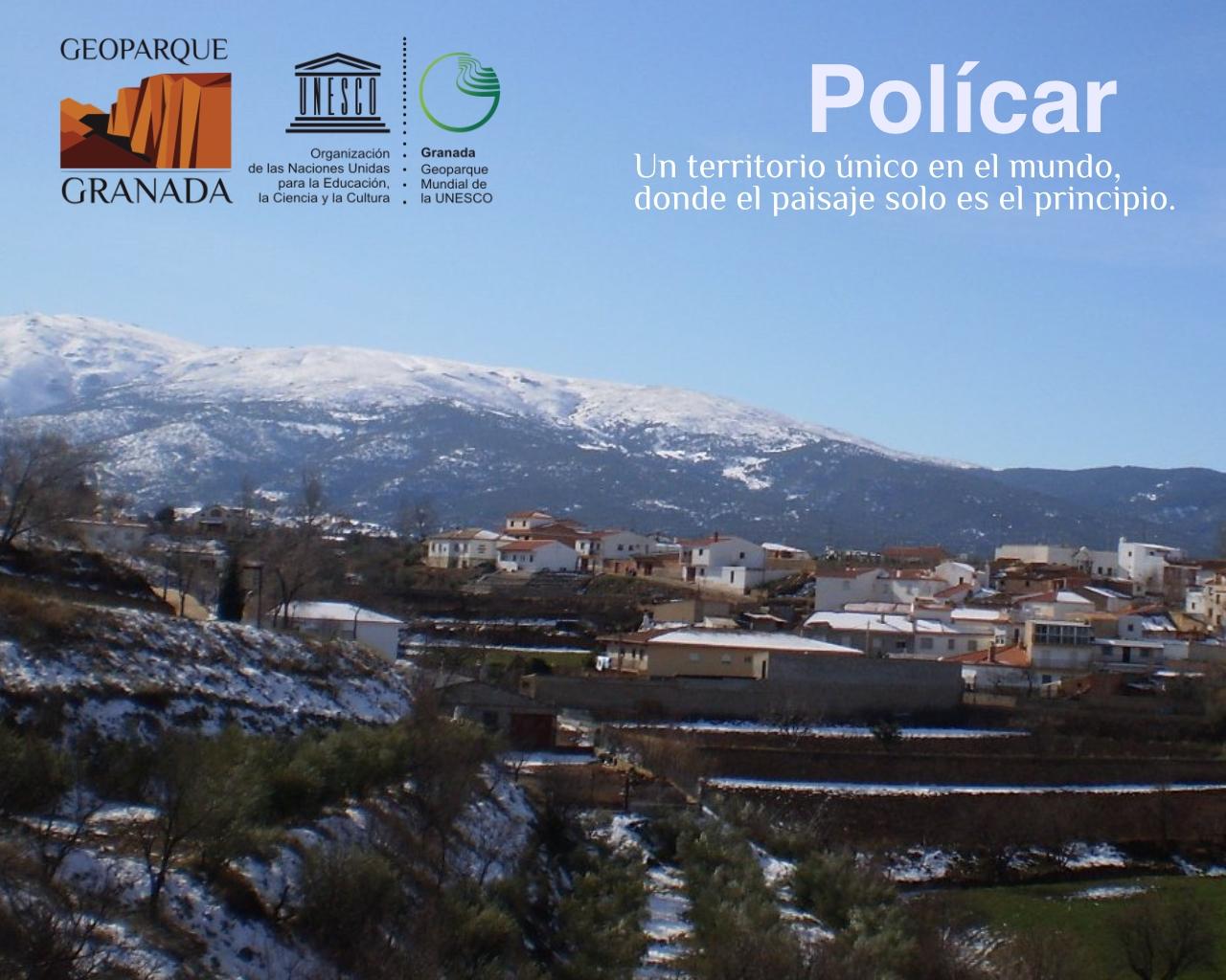 EXPO ITINERANTE POLICAR - Exposición sobre el Geoparque, en POLÍCAR del 23 de febrero al 8 de marzo. - Geoparque de Granada