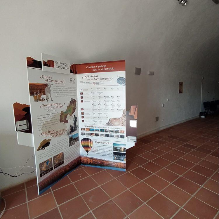 Rincón Geoparque Beas de Guadix 750x750 - El Geoparque instala espacios de promoción en 36 centros de interpretación y puntos de información turística del territorio - Geoparque de Granada