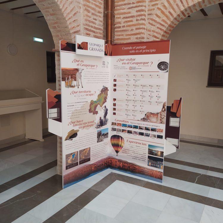 Rincón Geoparque Hospital Real Guadix 750x750 - El Geoparque instala espacios de promoción en 36 centros de interpretación y puntos de información turística del territorio - Geoparque de Granada