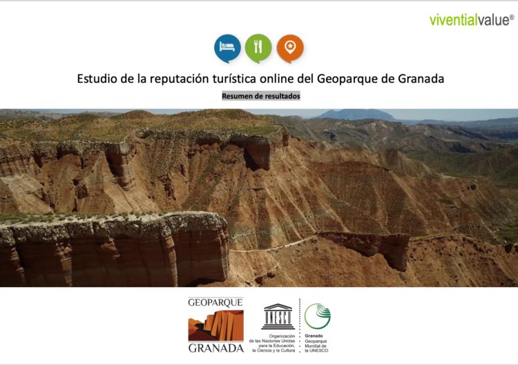 Portada Estudio Reputación Geoparque 750x529 - El Geoparque de Granada goza de una excelente reputación turística online. - Geoparque de Granada