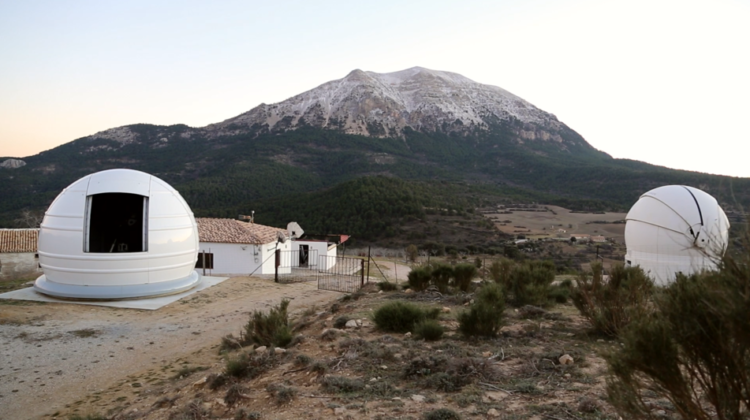 observatorio la sagra 750x420 - Astroturismo en el Geoparque de Granada. El Observatorio de La Sagra, en La Puebla de Don Fadrique. - Geoparque de Granada