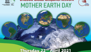 FB MOTHER EARTH DAY 2021 1 350x200 - Día de la Madre Tierra. Lo celebramos con yoga en Mesa de Bacaire - Geoparque de Granada