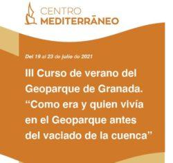 image 1 250x235 - III CURSO DE VERANO DEL GEOPARQUE DE GRANADA: COMO ERA Y QUIEN VIVÍA EN EL GEOPARQUE ANTES DEL VACIADO DE LA CUENCA - Geoparque de Granada