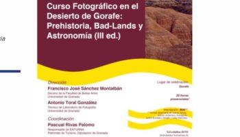 image 2 350x200 - CURSO FOTOGRÁFICO EN EL DESIERTO DE GORAFE: PREHISTORIA, BAD-LANDS Y ASTRONOMÍA (III ED.) - Geoparque de Granada