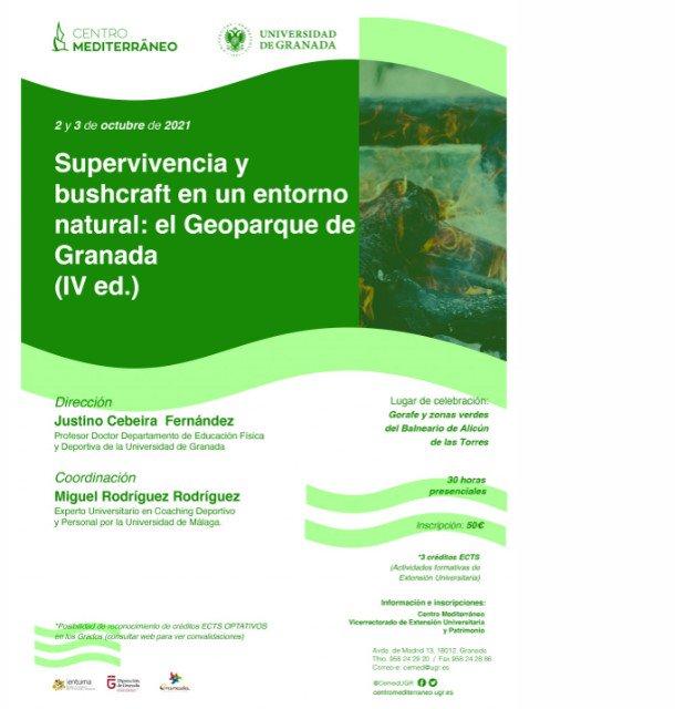 image 3 - Supervivencia y bushcraft en un entorno natural: EL GEOPARQUE DE GRANADA (IV ED.) - Geoparque de Granada
