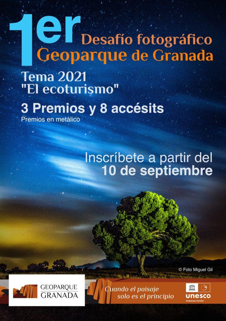 A3 CARTEL PROMOCIONAL CONCURSO FOTOGRAFÍA WEB 750x1061 - Concurso fotografía 2021 - Geoparque de Granada