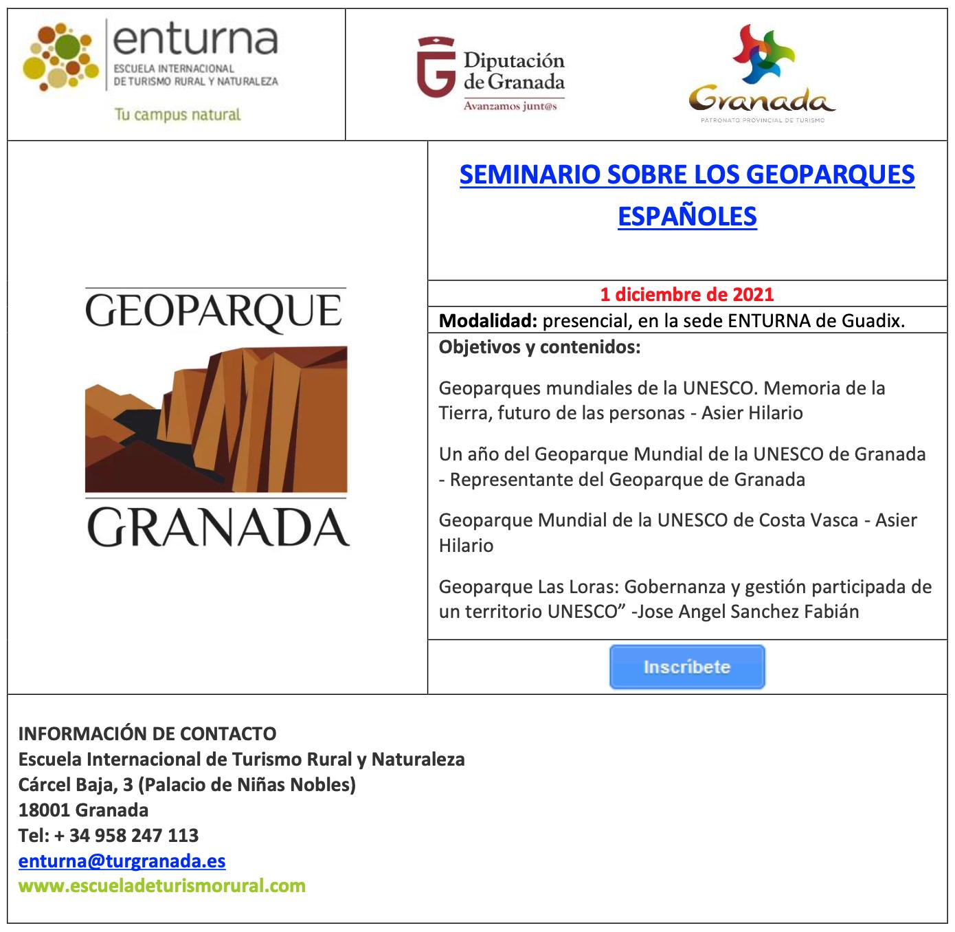 Screenshot 2021 10 11 at 14.34.31 - SEMINARIO SOBRE LOS GEOPARQUES ESPAÑOLES - Geoparque de Granada